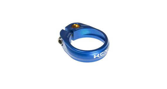 KCNC Road Pro Sattelklemme Ø34.9 mm blau